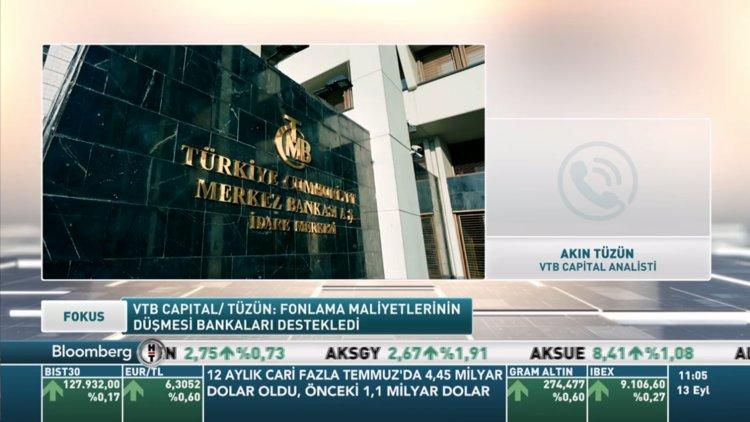 VTB Capital/Tüzün: Türk bankalarında ralli için uygun kriterler var