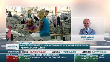"""İTO Başkanı Avdagiç'ten """"ekonomi dostu"""" iş kanunu talebi"""