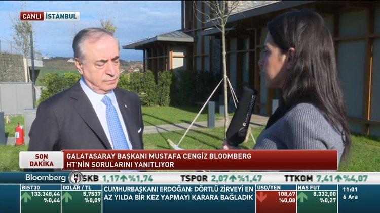 G.Saray Başkanı Cengiz: Şu an Riva için yeniden değerleme yapıyoruz