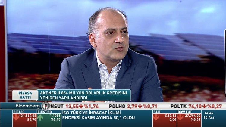 Akenerji/ Gencer: 854 milyon dolarlık borcumuzun yarısını TL'ye çevirdik