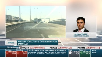 Avrasya Tüneli geçiş ücretlerine yüzde 56 zam geldi