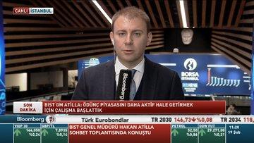 Borsa İstanbul Genel Müdürü Hakan Atilla, sohbet toplantısında konuştu
