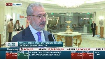 Tosyalı: Avrupa çelik sektöründe aksama olursa ilk tercih Türkiye olacaktır
