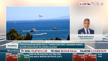 TÜRSAB/ Bağlıkaya: Turizm sektörü tamamen durdu, işlerin başlaması da zaman alacak