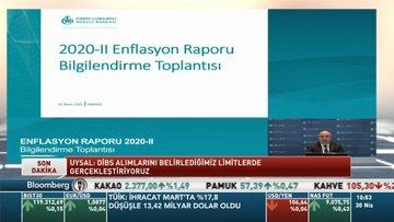 Merkez Bankası yıl sonu TÜFE tahminini düşürdü