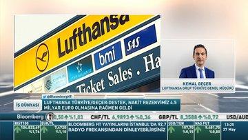 Lufthansa Türkiye/ Geçer: Kurtarma paketi, nakit rezervimiz 4.5 milyar euro olmasına rağmen geldi