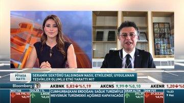 Kaleseramik Genel Müdürü/ Akbaş: Sektörde üretim Mart sonrası yüzde 50 azaldı