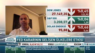 Şant Manukyan: Fed'in açıklamasından gelişmekte olan ülkeleri finansal açıdan rahatsız eden bir durum görmüyorum