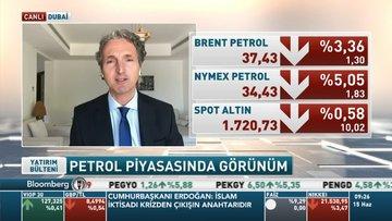 Bloomberg HT Dubai/ Erkazancı: Salgında ikinci dalga endişesi petrol fiyatlarına da yansıdı