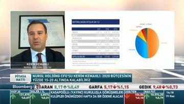 Nurol Holding CFO/ Kemahlı: 2020 bütçesinin yüzde 15-20 altında kalabiliriz