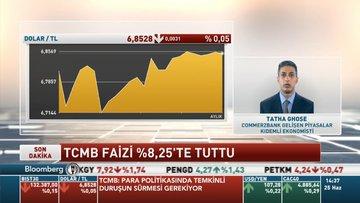 Commerzbank/ Ghose: TCMB, enflasyonda düşüş beklediği için faiz indirmeye devam edebilir