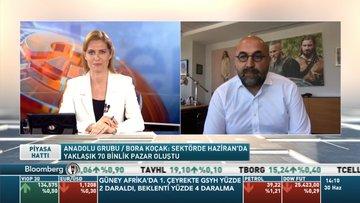 Anadolu Grubu/ Koçak: Sektörde Haziran'da yaklaşık 70 binlik pazar oluştu