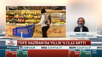 Virtus/ Sözer: Üretici ve tüketici enflasyonu arasındaki fiyat farkının normalize olmasını önümüzdeki yıl bekleyebiliriz
