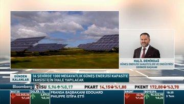 Güneş Enerjisi Sanayicileri ve Endüstrisi Derneği Başkanı Halil Demirdağ- YEKA Güneş