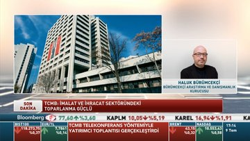 Haluk Bürümcekçi TCMB'nin telekonferans yöntemiyle gerçekleştirdiği toplantıyı değerlendirdi