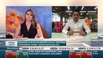 Borusan Lojistik GM/ Kalay: Lojistik sektörü 2. çeyrekte yaklaşık yüzde 20 daraldı