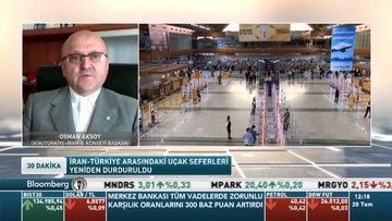 DEİK/Türkiye-İran İş Konseyi Başkanı/ Aksoy: İran'la karayolu trafiğimiz devam ediyor