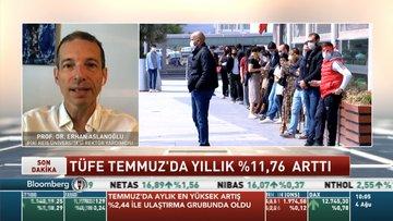 Prof. Dr. Aslanoğlu: ÜFE'deki artışın yüksek olması maliyet enflasyonu tarafında baskının devam ettiğini gösteriyor