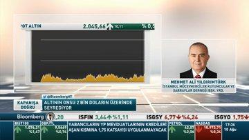 Mehmet Ali Yıldırımtürk: Aşı bulunsa bile altın fiyatlarında kısa geri çekilmeden sonra yukarı yönlü dalgalanma sürecek
