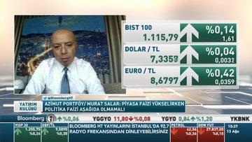 Azimut Portföy/ Murat Salar: Piyasa faizi yükselirken politika faizi aşağıda olmamalı