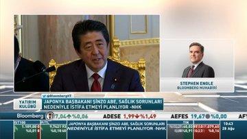 Bloomberg/Engle: Japonya Başbakanı Şinzo Abe'nin beklenen istifası şimdiden piyasaları vurdu