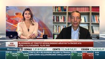 Prof. Dr. Erhan Aslanoğlu Bloomberg HT Ağustos ayı Tüketici Güven Endeksini değerlendirdi
