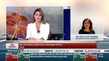 Şekerbank/Dr. Gülay Elif Yıldırım: YEP'teki büyüme tahminlerini makul görüyorum