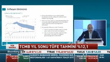 TCMB Başkanı Uysal: Enflasyon tahmini kur, çıktı açığı ve gıda yukarı yönlü etkiledi