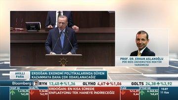 Aslanoğlu: Bu yolda gidersek daha çok öngörülebilir ve daha az kırılgan bir Türkiye ekonomisi olabilir