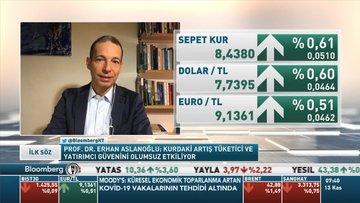 Prof. Dr. Erhan Aslanoğlu: Geldiğimiz nokta portföy yatırımları için pozitif