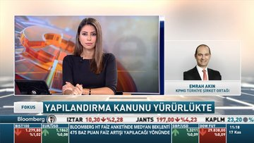 KPMG/Akın: Yapılandırmaların bütçeye 1,5-2 milyar TL olumlu katkısı olacak