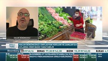 Haluk Bürümcekçi: Yeni yılda gelen zamlar ocak enflasyonunu etkileyebilir