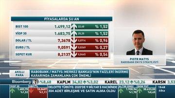 Rabobank/ Matys: TL'nin dolar karşısında kazançlarını daha da artırmasını bekliyorum