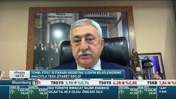 TESK/Palandöken: TCMB Başkanı Ağbal'dan enflasyonun düşeceği izlenimini edindik