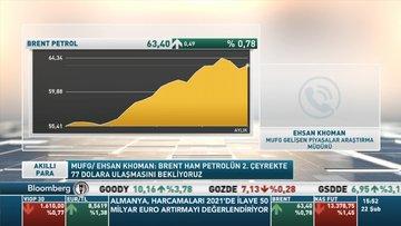 MUFG/ Khoman: Brent ham petrolün 2. çeyrekte 77 dolara ulaşmasını bekliyoruz