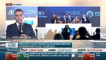 Turk İlaç/ Battal: Arzın %30'unu borç ödeme, %35'ini işletme sermayesi için kullanacağız