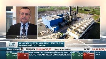 Aksa Enerji CFO'su Nuri Tezel: Özbekistan'da toplam yatırımlarımız 740 MW'a çıkacak