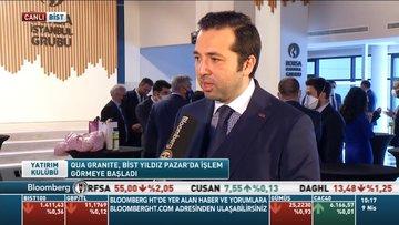 Qua Granite borsada işlem görmeye başladı