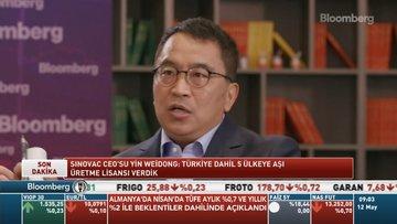 Sinovac CEO'su Yin Weidong: Türkiye dahil 5 ülkeye aşı üretme lisansı verdik