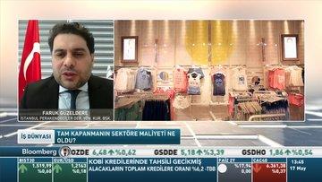 İstanbul PERDER/Güzeldere: Tam kapanmada yaklaşık %10 ciro kaybımız oldu