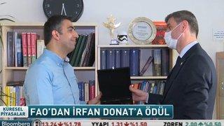 FAO 'GIDA KAHRAMANI' ÖDÜLÜNÜ İRFAN DONAT'A VERDİ