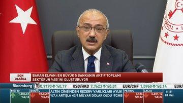 Bakan Elvan: Banka dışı mali kuruluşların daha etkin olmasını istiyoruz