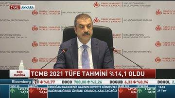 TCMB 2021 enflasyon tahminini yükseltti