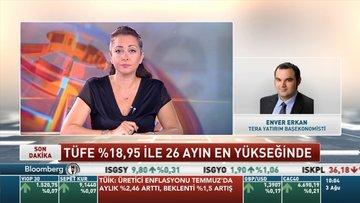 Tera Yatırım/Erkan: Politika faiziyle eşleşen enflasyon oranı MB'de ilave sıkılaşma getirebilir