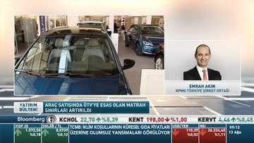 Binek araçlarda ÖTV matrah sınırları yükseltildi