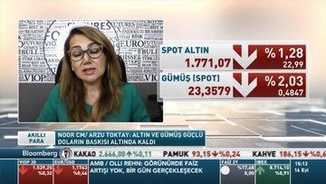 Noor CM/ Arzu Toktay: Altın ve gümüş güçlü doların baskısı altında kaldı