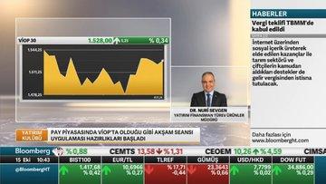 Yatırım Fin.Dr.Sevgen: Akşam seansı yatırımcılara riskten korunma için avantaj sağlayacak