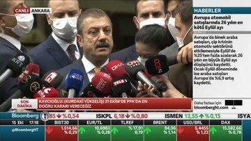 Merkez Bankası Başkanı açıklamalarda bulundu