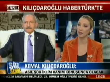 Kemal Kılıçdaroğlu Söz Sende'ye konuştu 4