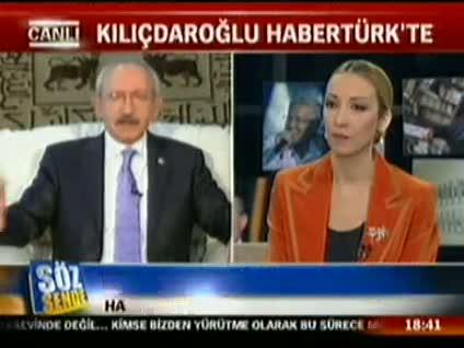 Kemal Kılıçdaroğlu Söz Sende'ye konuştu 6